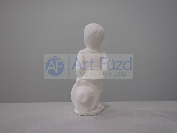 Small Pilgrim Boy Figurine ~ 1.75 x 1.75 x 4.25