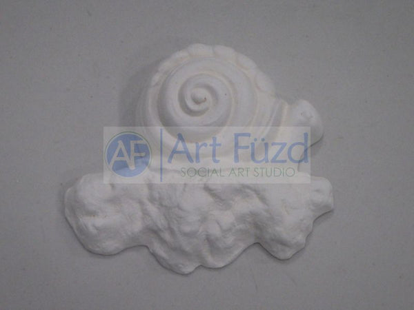 Snail on Rocks Wall Plaque ~ 5.25 x 4.75 x 1.5