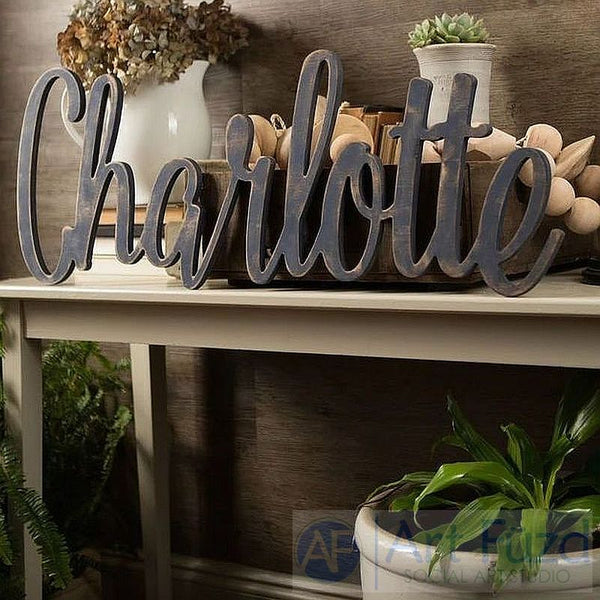 Custom Word or Name ready-to-paint wood sign - Huge - 35 x 18
