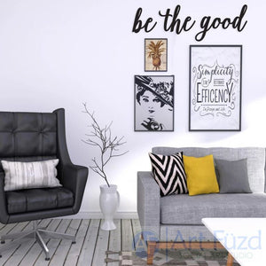 """Be The Good"" ready-to-paint wood sign - 3 pc. set"
