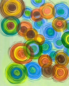 Abstract Circles I - 12 x 12