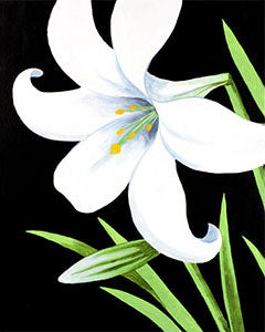 Easter Lily - 16 x 20