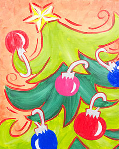 Jingle Tree - 16 x 20