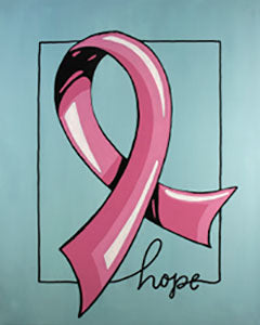 Ribbon of Hope - 16 x 20