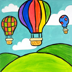 Scenes from a Balloon - 12 x 12