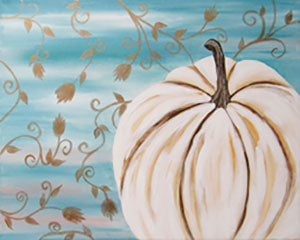 White Pumpkin - 12 x 12