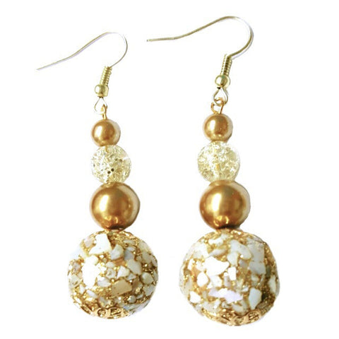 Graduated Pearl Earrings - HaJuls