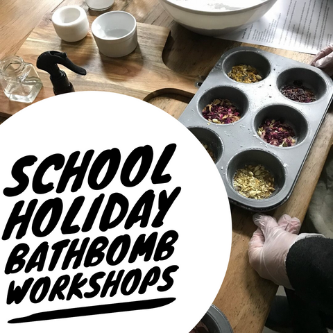 School Holiday Bathbomb Making Workshop