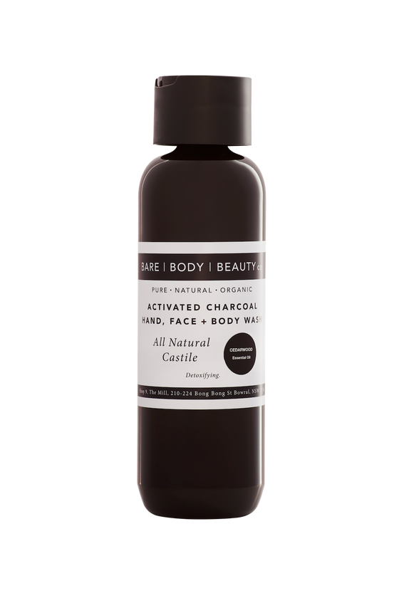 Activated Charcoal Hand, Face + Body Wash