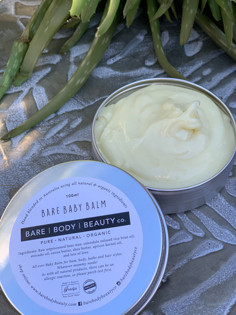 BARE BABY BALM Calendula & Avocado Oil 100g