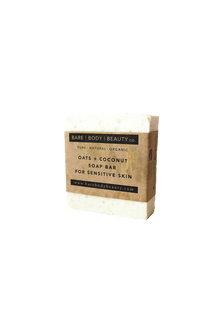 Oats + Coconut Soap Bar For Sensitive Skin