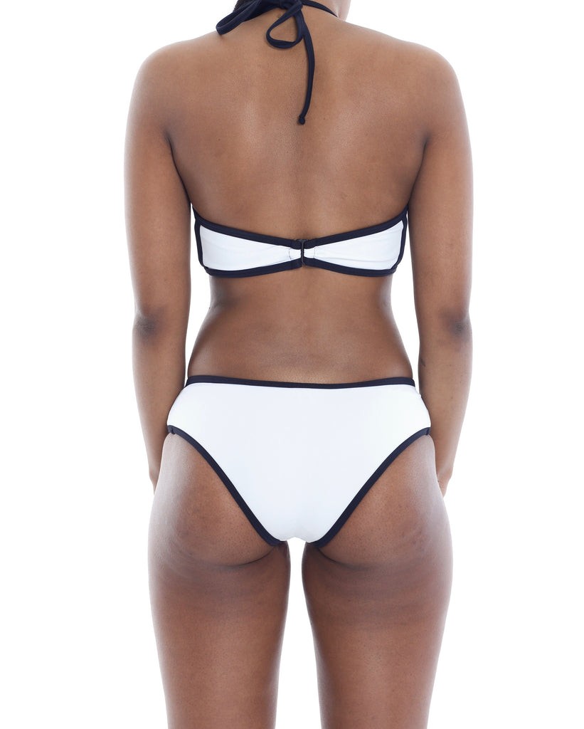 "White ""London"" Bikini Bottom"