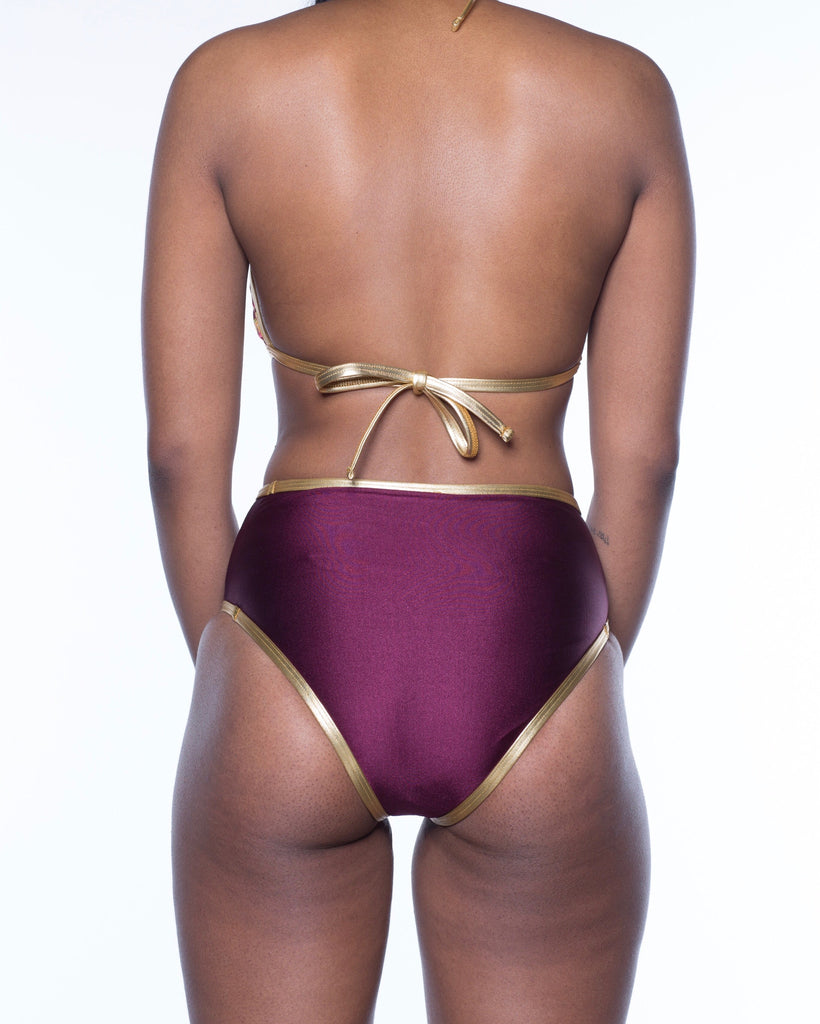 "Goldroon ""Janae"" Mid Waist Bottom."