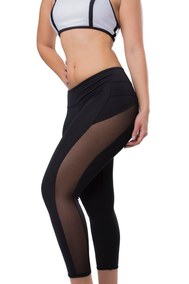 "The ""Lexie"" Full Length Swim Legging"