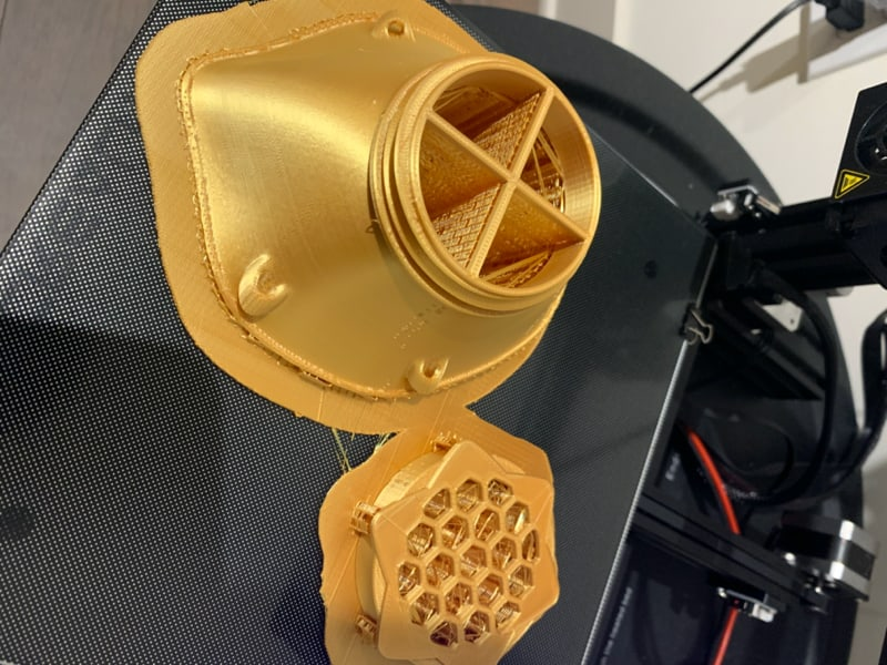 Face Mask Out of 3D Printer