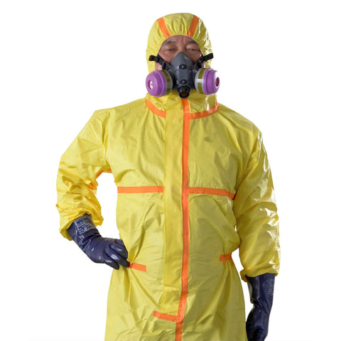 Disposable Type 4 Protective Suits (GuardWear 5000)