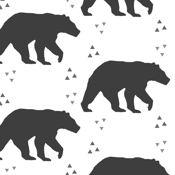 Timber | Bears in Onyx - Hudson Design - AfterPay