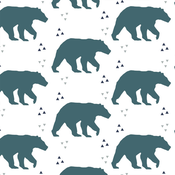 Timber | Bears in Teal
