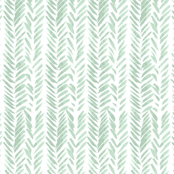 Timber | Brush Stroke in Mint