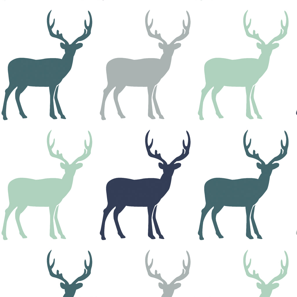 Timber | Deer in Wintergreen - Hudson Design - Afterpay