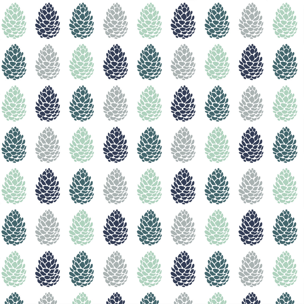 Timber | Pine Cones in Wintergreen - Hudson Design - Afterpay