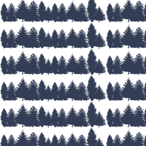 Timber | Tree Line in Navy