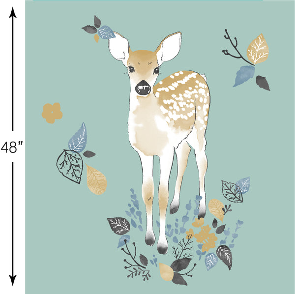 Fawn | Fawn Crib & Quilt Panels in Aspen