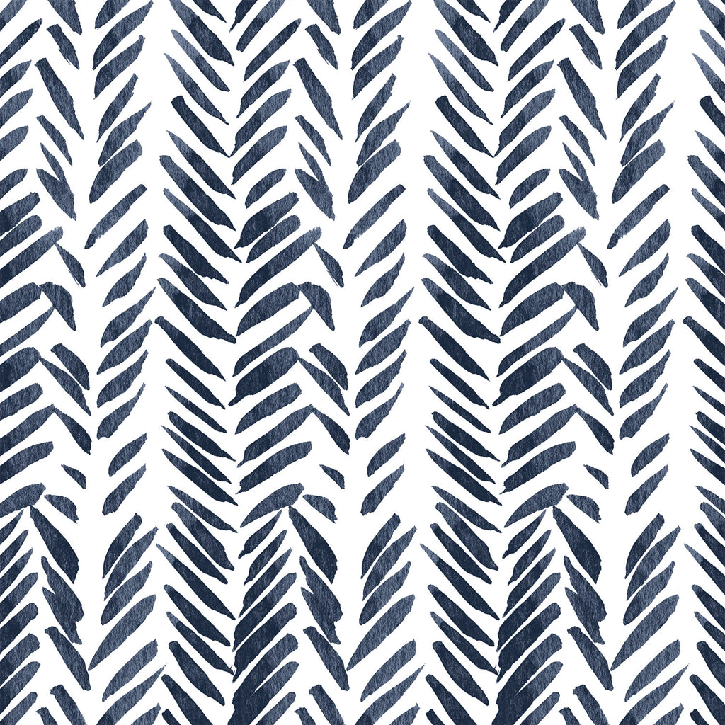 Timber | Brush Stroke in Navy - Hudson Design - Afterpay