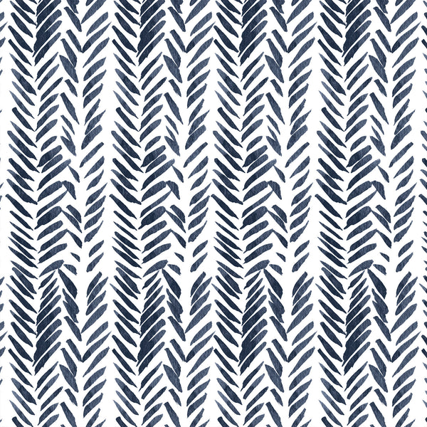 Timber | Brush Stroke in Navy