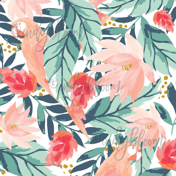 Tropical Summer | Large Bohemian Floral in Tropical - Indy Bloom - afterpay