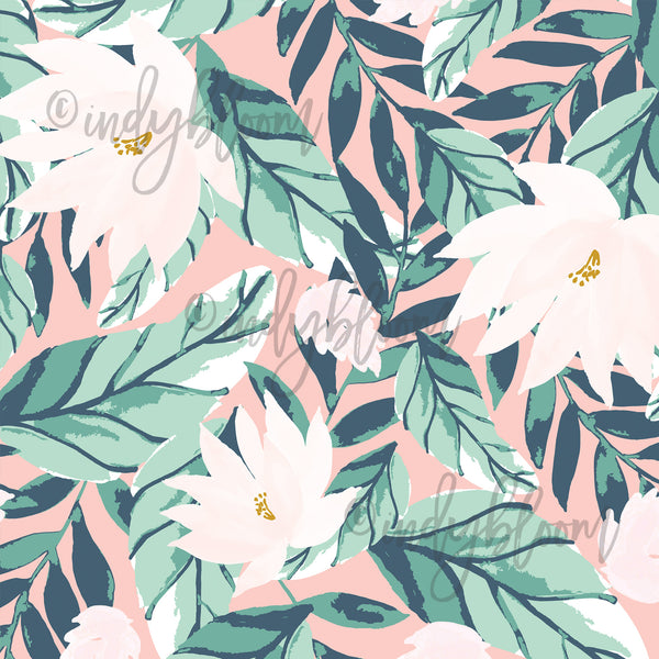 Tropical Summer | Large Summer Floral in Tropical - Indy Bloom - Afterpay