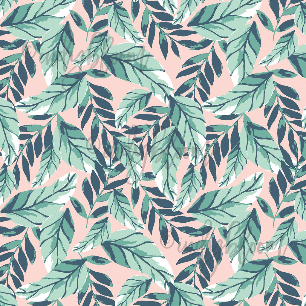 Tropical Summer | Palm Leaves in Tropical - Indy Bloom - afterpay