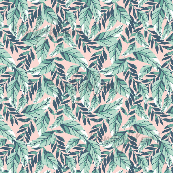 Tropical Summer | Palm Leaves in Tropical