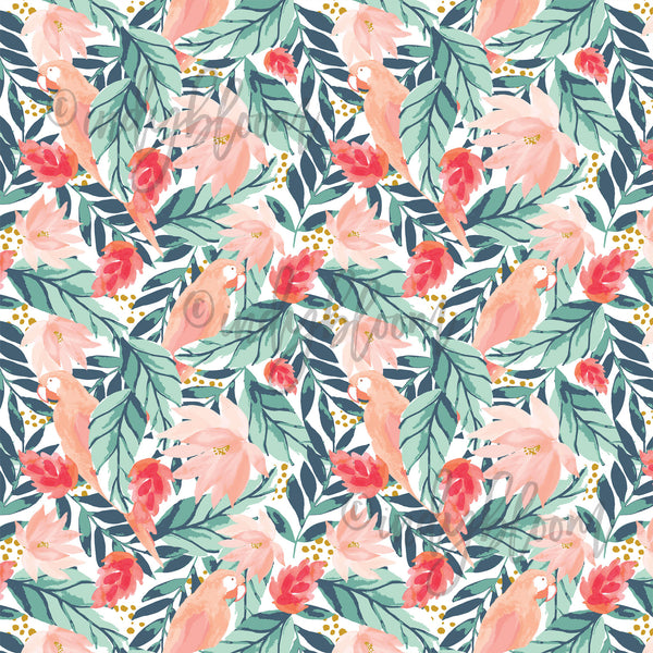 Tropical Summer | Bohemian Floral in Tropical