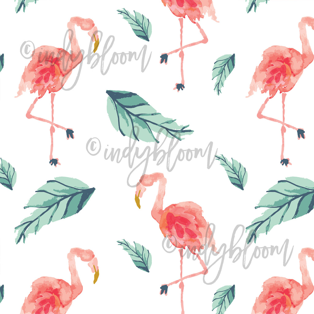 Tropical Summer | Flamingo Palm in Tropical - Indy Bloom - Afterpay