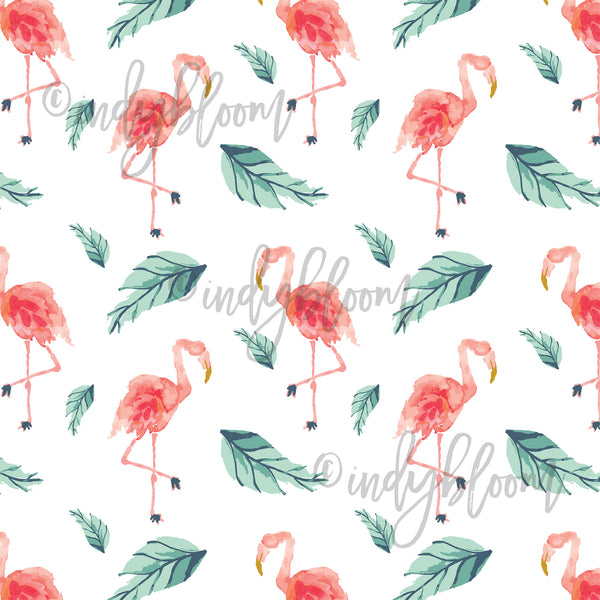 Tropical Summer | Flamingo Palm in Tropical