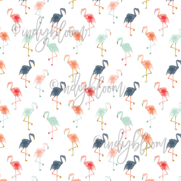 Tropical Summer | Small Flamingos in Summer - Indy Bloom - afterpay