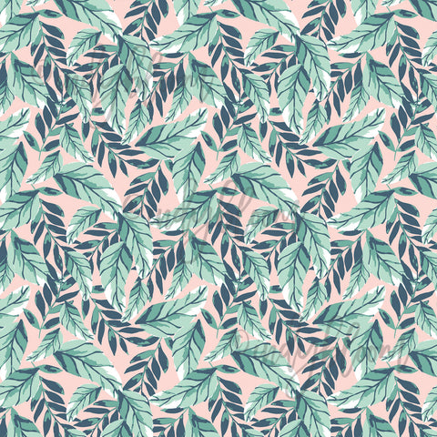 Tropical Summer | Small Palm Leaves in Tropical - Indy Bloom - afterpay
