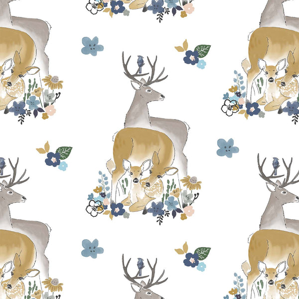 Oh Deer | Deerly Loved in Arcadian -  hawthorne threads fabric - afterpay