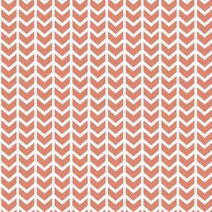 Hawthorne Threads - Broken Chevron - Broken Chevron in Desert Rose
