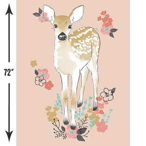 Fawn | Fawn Crib & Quilt Panels in Tulip - Hawthorne threads Digital Fabrics - Afterpay
