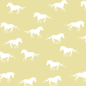 Hawthorne Threads - Horse Silhouette - Horse Silhouette in Buttercup