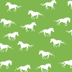 Hawthorne Threads - Horse Silhouette - Horse Silhouette in Greenery