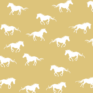 Hawthorne Threads - Horse Silhouette - Horse Silhouette in Honey