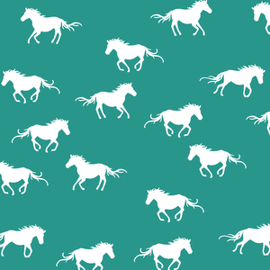 Hawthorne Threads - Horse Silhouette - Horse Silhouette in Jade