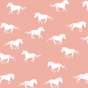 Hawthorne Threads - Horse Silhouette - Horse Silhouette in Peony
