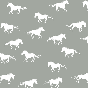 Hawthorne Threads - Horse Silhouette - Horse Silhouette in Sage