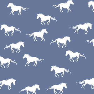 Hawthorne Threads - Horse Silhouette - Horse Silhouette in Azurite