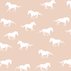 Hawthorne Threads - Horse Silhouette - Horse Silhouette in Shell