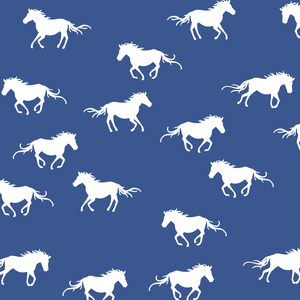 Hawthorne Threads - Horse Silhouette - Horse Silhouette in Blue Jay